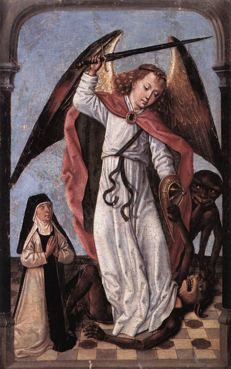 St Michael by the Master of St Ursula