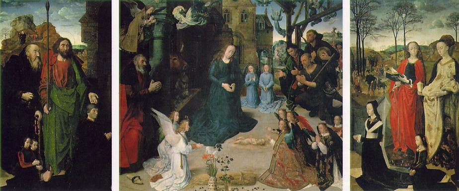 Van der Goes Portinari altarpiece
