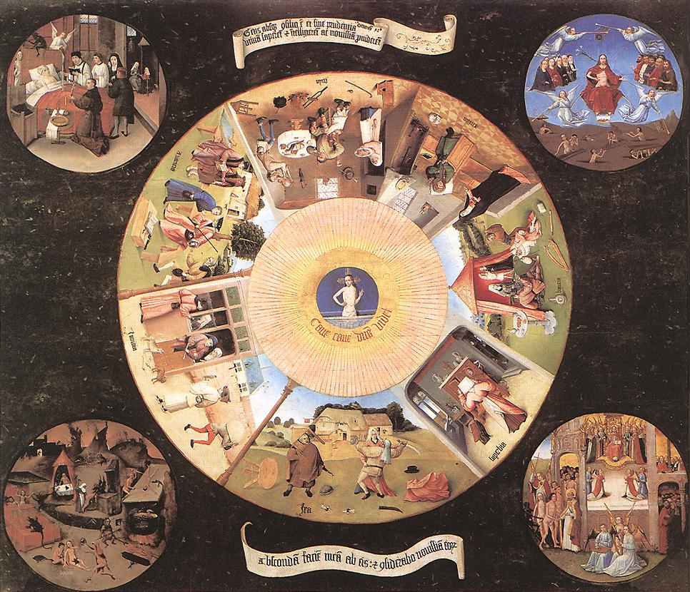 Seven Deadly Sins by Bosch