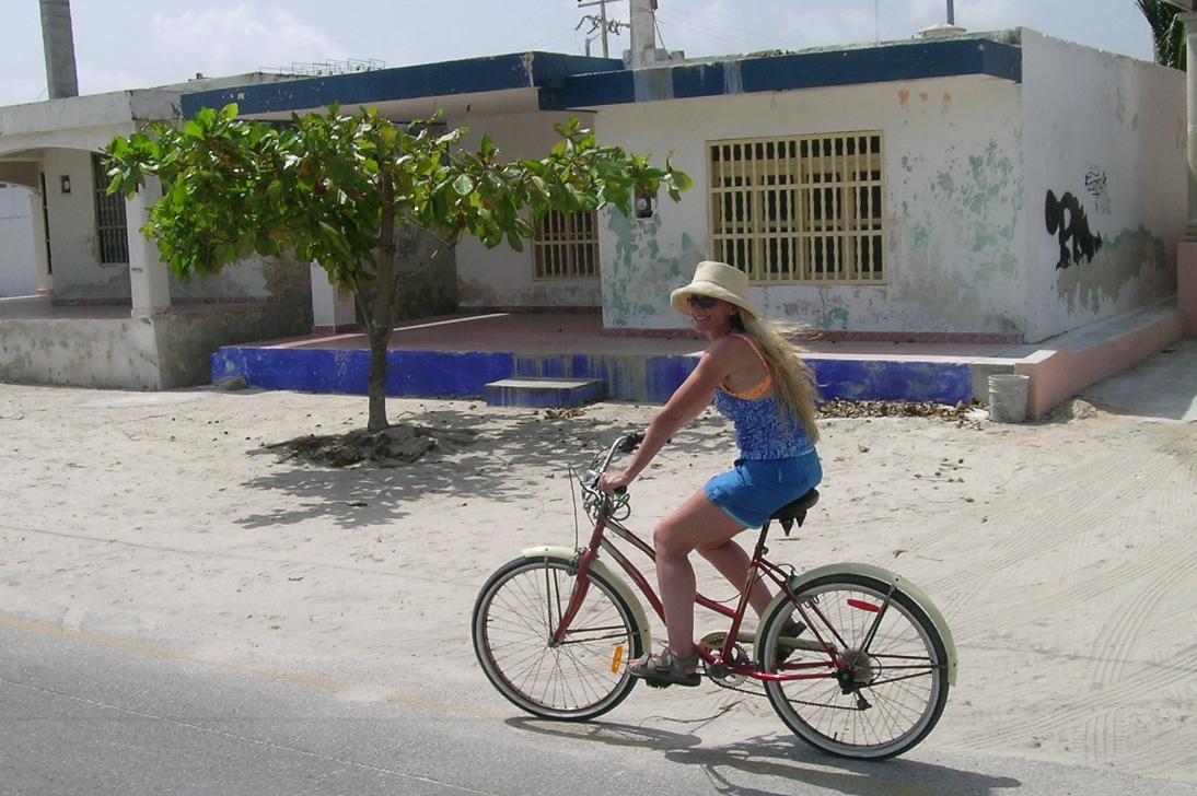 Lisa riding