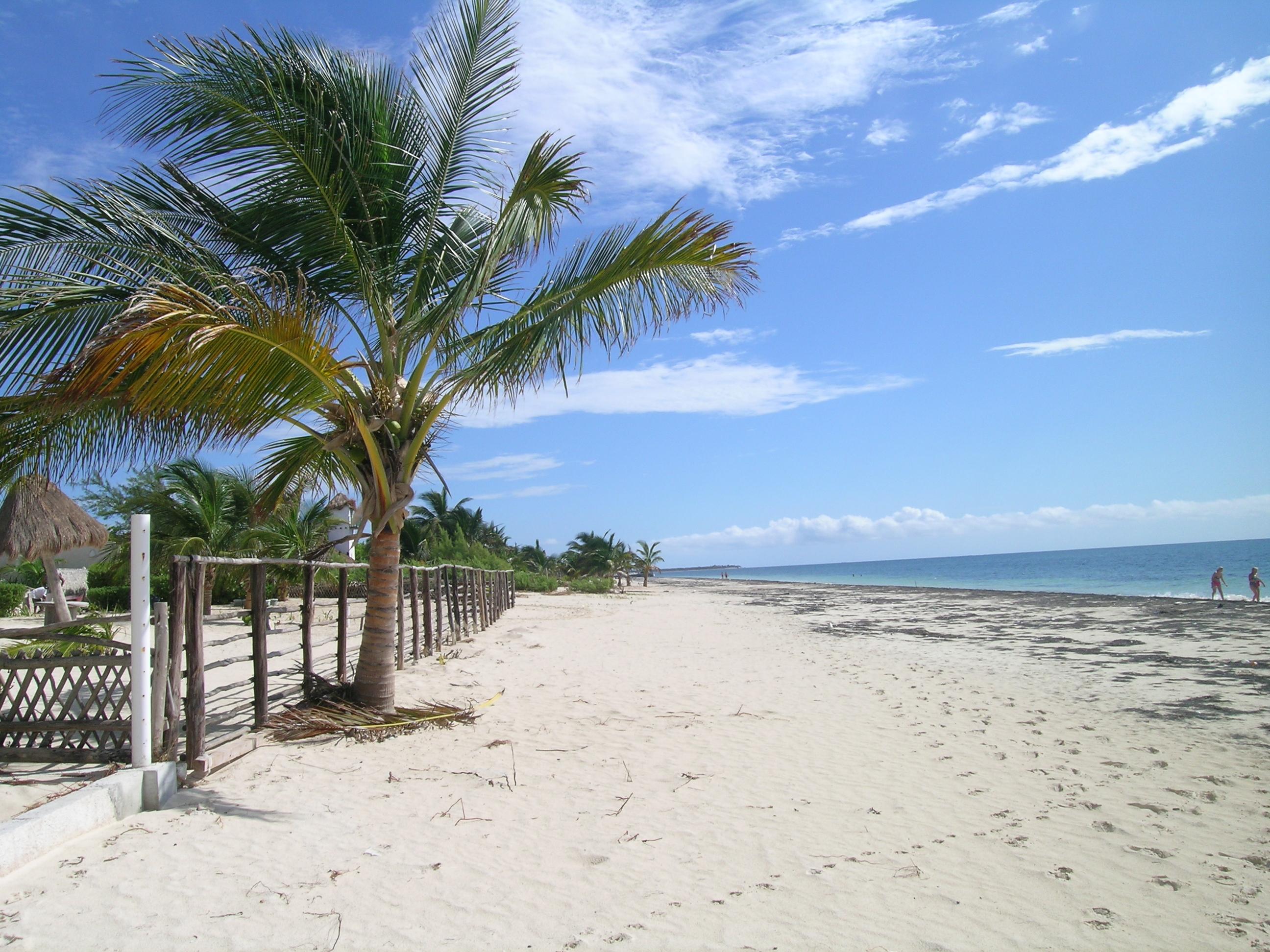 Beach Puerto Morelos