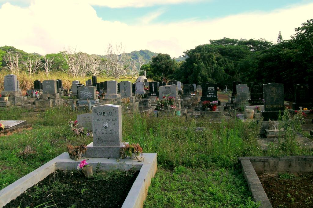 Koloa Cemetery, Kauai