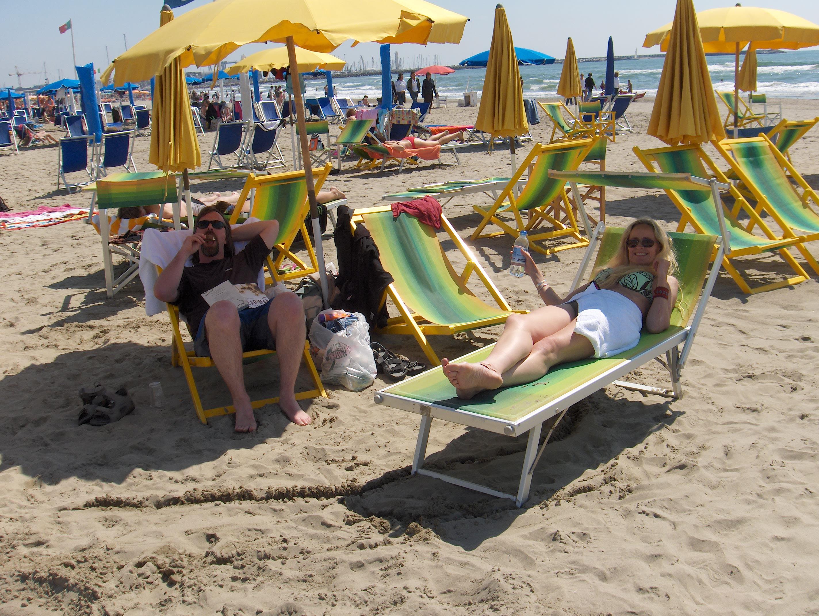 Beach at Viareggio
