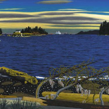 Hughes, Departure Bay 1969