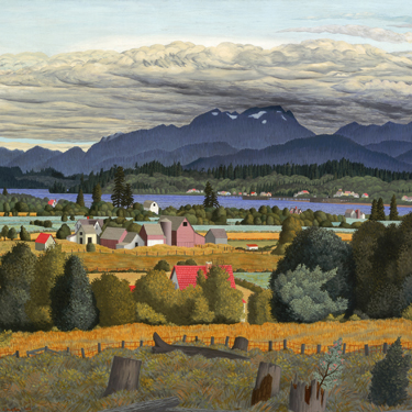 Hughges, Comox Valley 1953