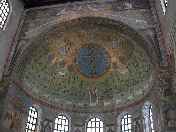 St Apollinaire apse mosaic