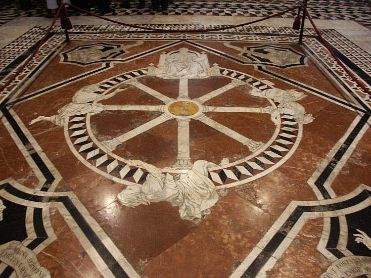 Wheel of Fortune, Siena Cathedral