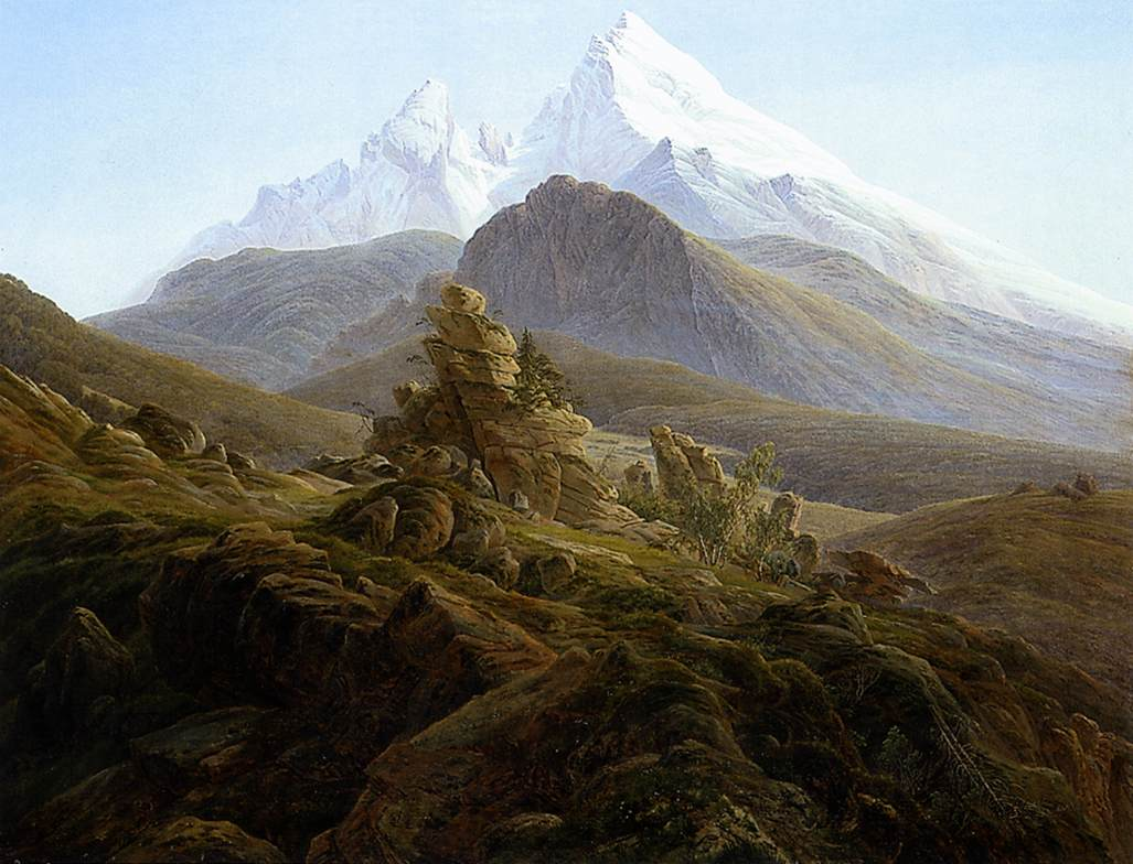 Friedrich, The Watzmann