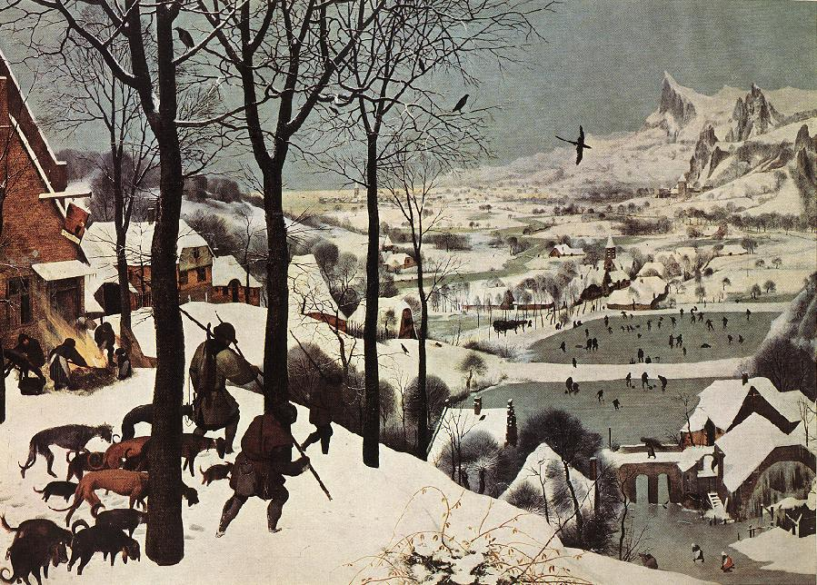 Bruegel, Hunters