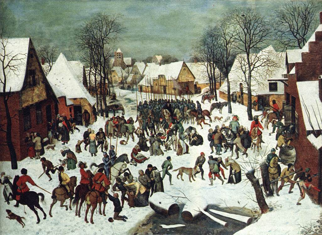Bruegel, The Slaughter of the Innocents