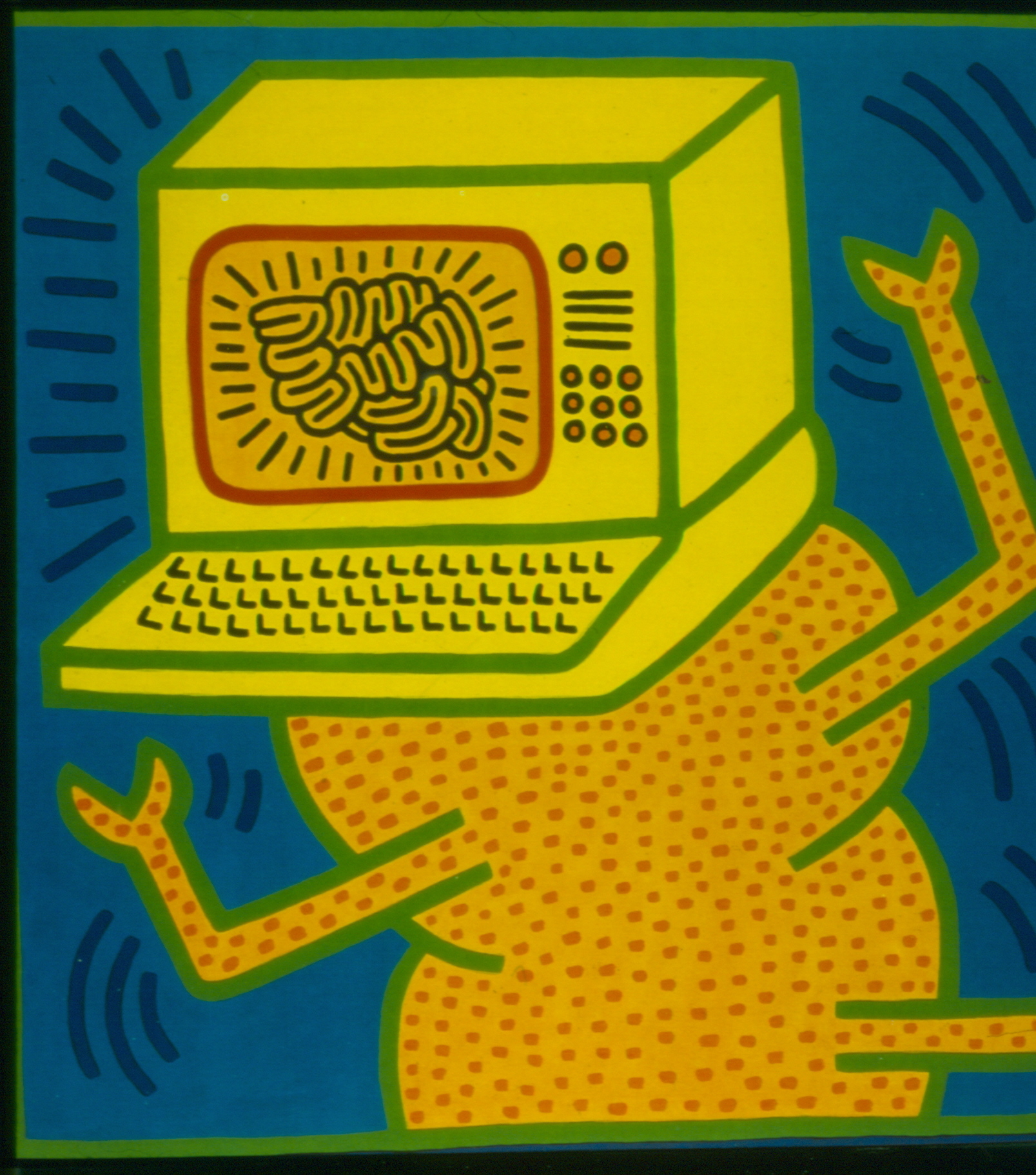 Haring Untitled