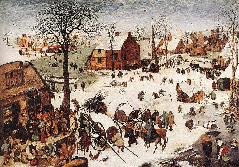Bruegel, The Numbering at Bethlehem