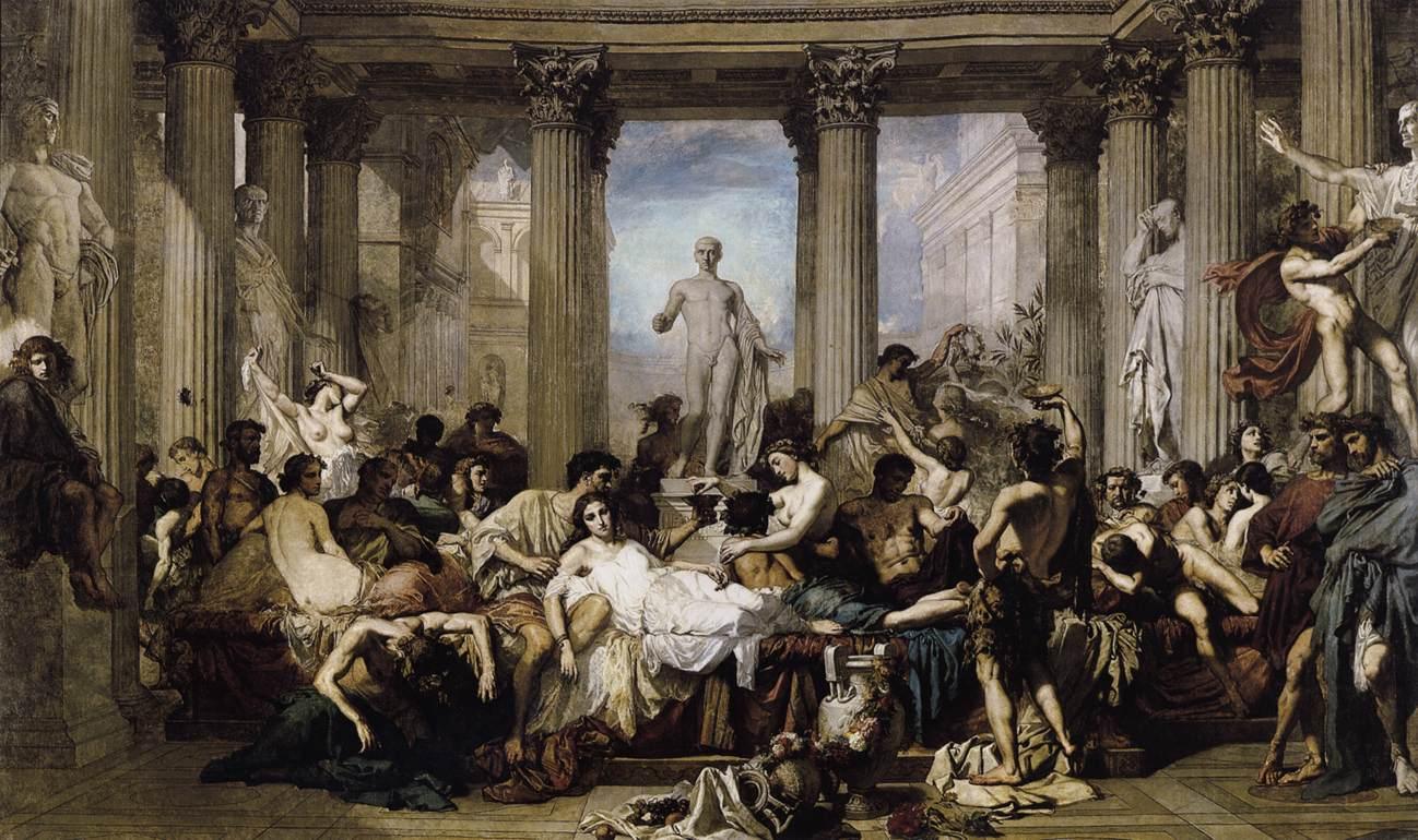 Roman Empire orgies
