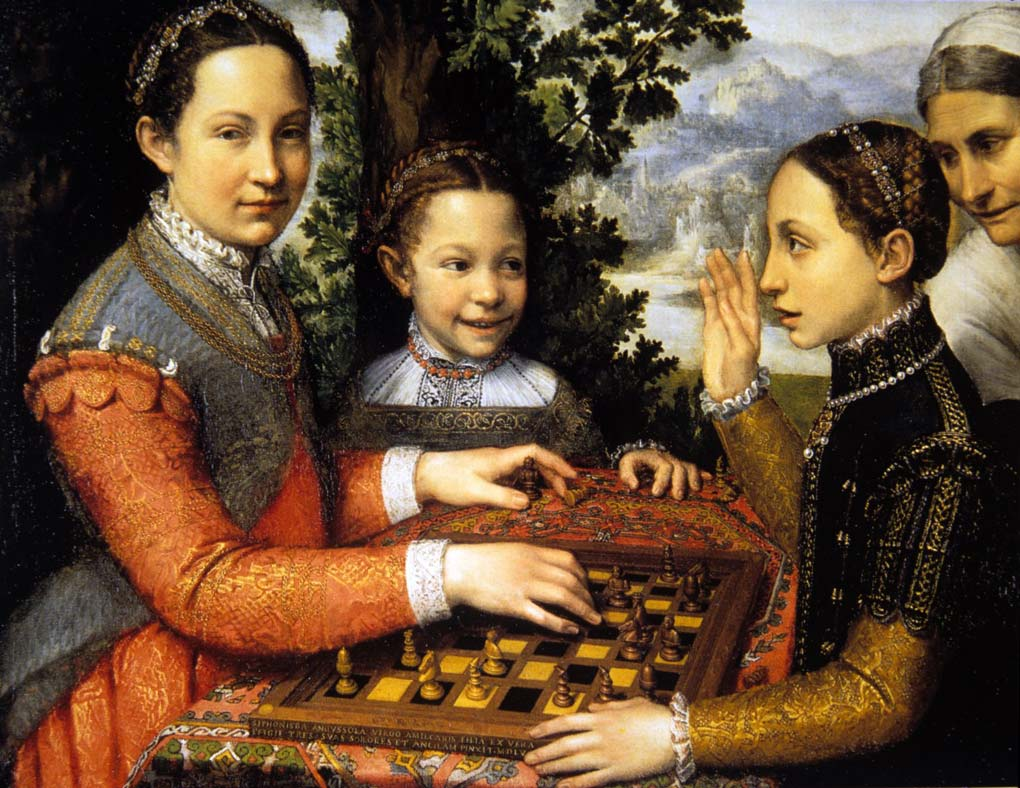 Anguissola, Chess Game