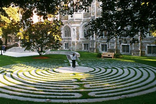 Boston College Memorial Labyrinth