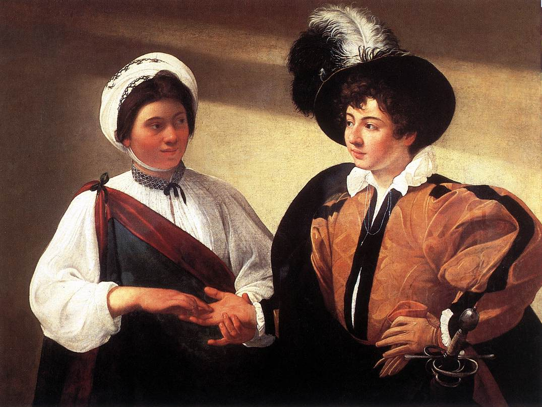 Caravaggio, The Fortune Teller