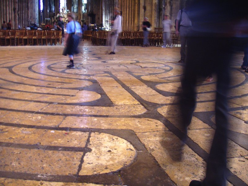 Labyrinth, Chartres Cathedral