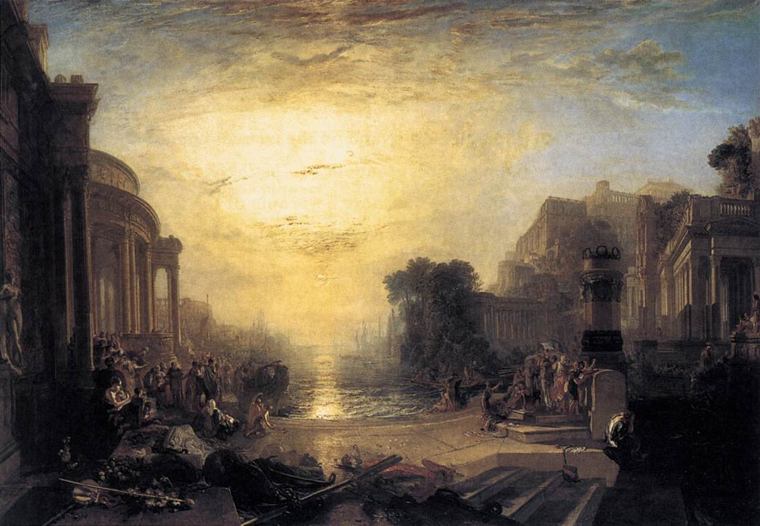 Turner, Decline of the Carthaginian Empire 1817