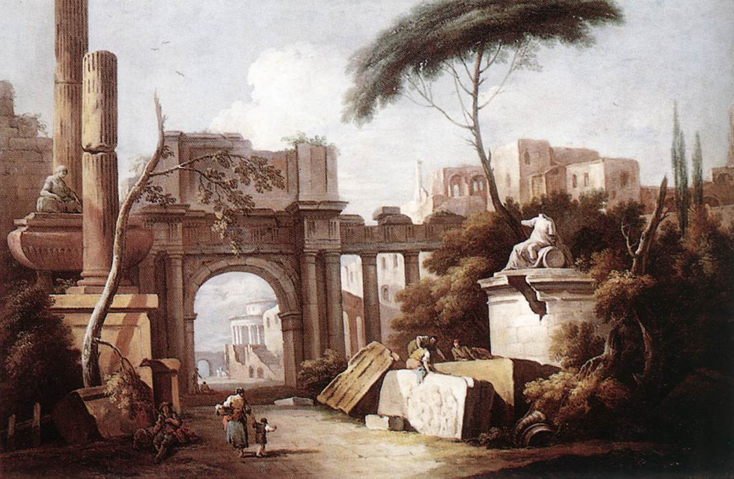 Zais, Ancient Ruins 1735