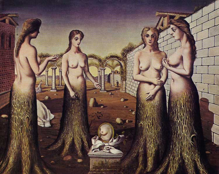 Delvaux, The Birth of the Day