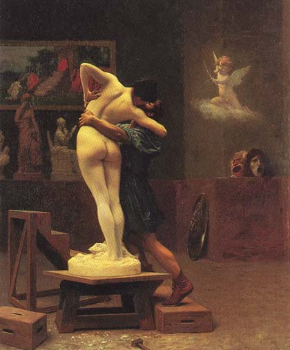 Gerome, Pygmalion and Galatea 19th c
