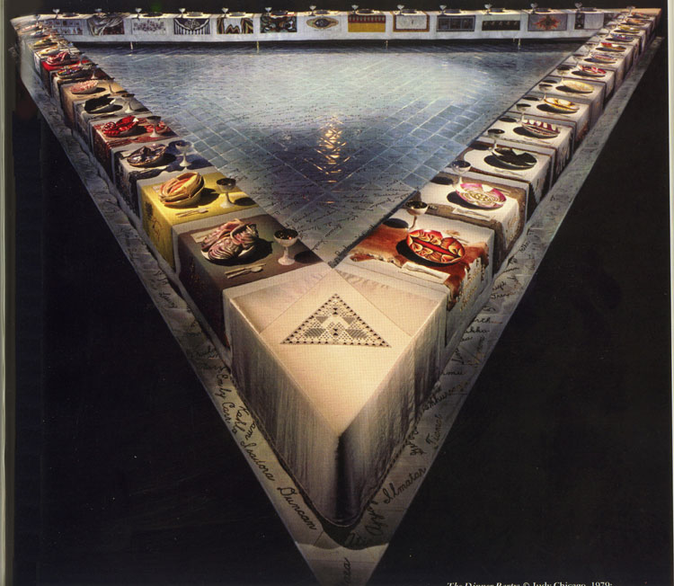 Judy Chicago, The Dinner Party