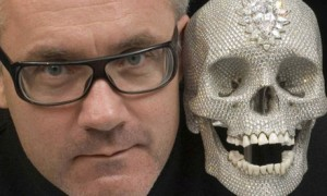 Damien Hirst and Skull (For the Love of God ...)
