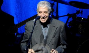 Leonard Cohen Performs